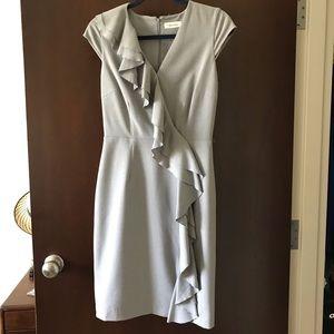 Gray Calvin Klein Dress Size 2
